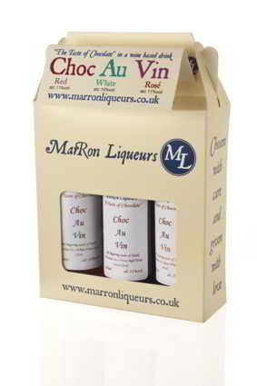 Choc au Vin by MarRon Liquers
