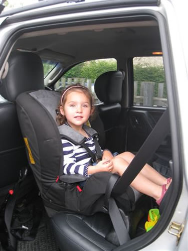Extended Rear Facing car seat (ERF) - Why