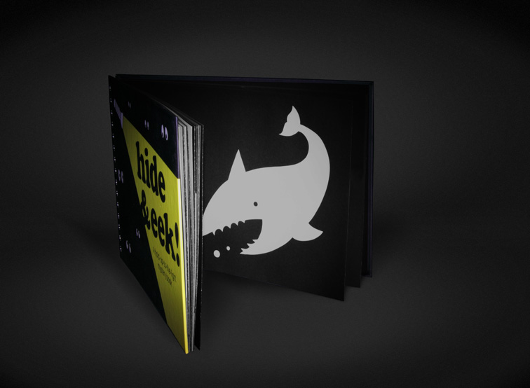 The shark is one of Roo's favourite pictures in the book.