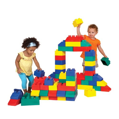 These large blocks are so much fun, they are easy to use for both kids and a firm favourite with both my boys at the local play centre!