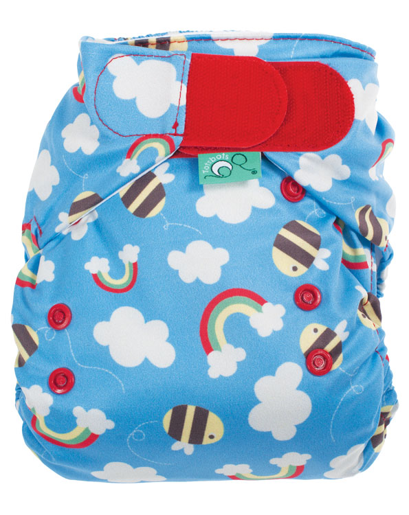 Frugi originally started as a cloth nappy company and have been selling these beautiful cloth nappies for years - I think they have had chance to perfect their craft and if you are a cloth nappy fan you could be in for a treat!