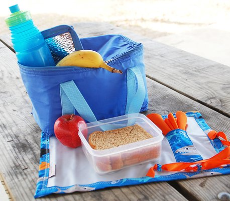 Easy to pack in a lunch box, bag or even keep in the car.