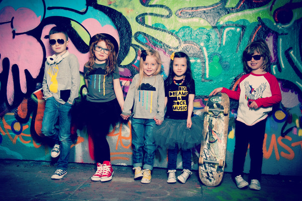 I love the variety of the range - super cool clothes for super cool kids!