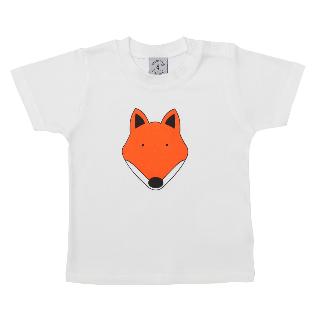 The baby fox t-shirt is one of my favourites! How cute is that fox - there is also a long sleeved version, which is perfect for a little one born during the slightly cooler weather of spring.
