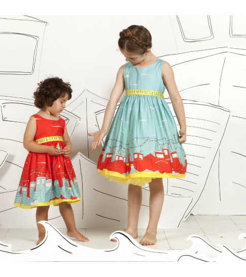 Poppy dresses are imaginative and stunning. Who wouldn't want to wear a story?