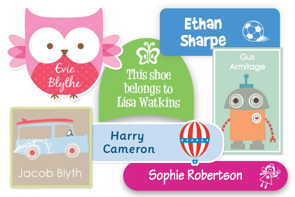 Such a variety of labels to suit every style, garment or object!
