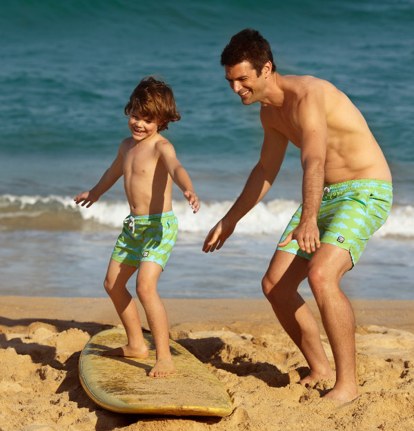 13b155e7c3 Super stylish swim shorts for men and boys - the perfect fashion gift for  Father's day ...