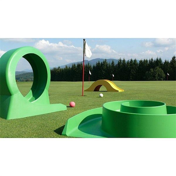 Wooden Miniature Golf Set - Little Goose Toys |Miniature Golf Set