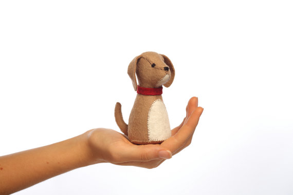The pocket pup - easy to make for competent young sewers - a great way to teach them a new skill!