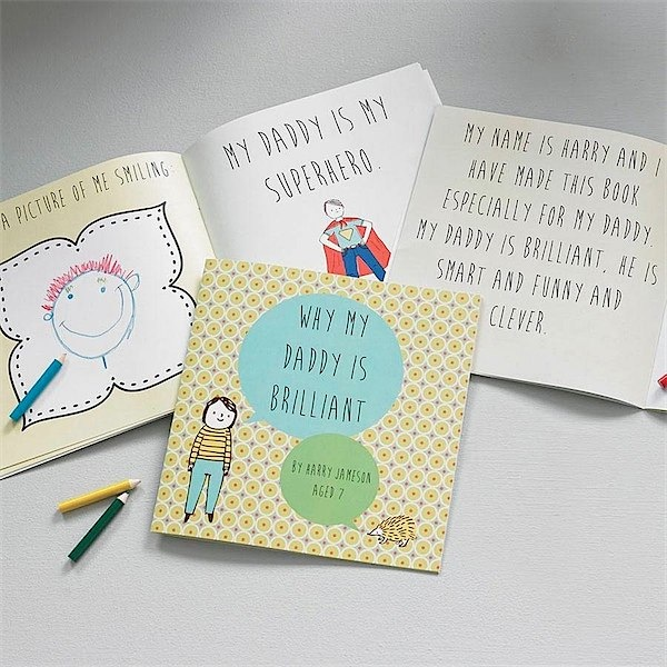 This is a great present for Father's Day, or Dad's birthday - great personalised gift. I love this site!