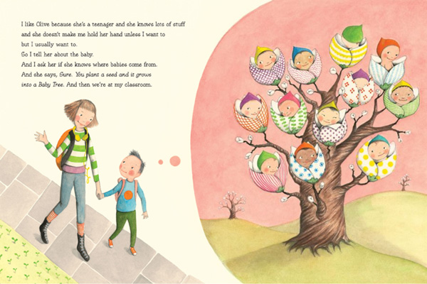 Great book for explaining to children where babies come from. I love this site, there are so many cool things for kids and parents!