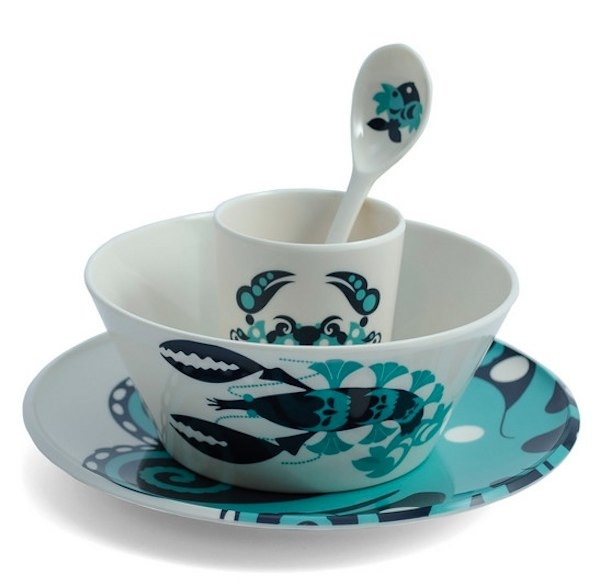 Thomas Paul kids melamine sale fish