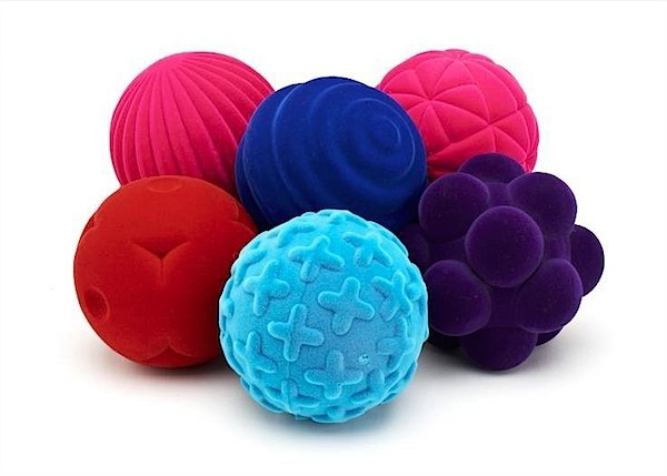 Rubbabu balls for sensory & motor skills for baby via Toby & Roo :: daily inspiration for stylish parents and their kids?