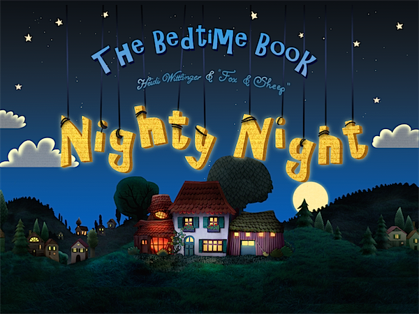 Nighty night App via Toby & Roo :: daily inspiration for stylish parents and their kids.