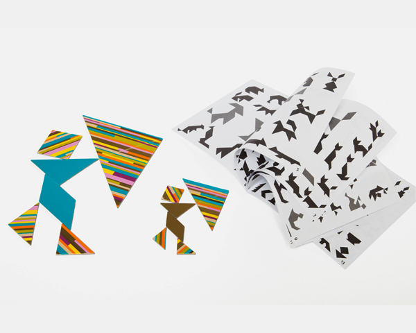 Tangram from Mon Petit Art via Toby & Roo :: daily inspiration for stylish parents and their kids.