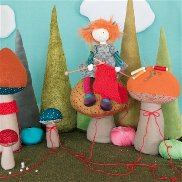 Moulin Roty sewing & knitting kit via Toby & Roo :: daily inspiration for stylish parents and their kids.