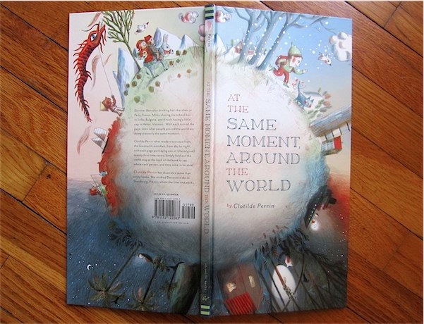 What we read: At the Same Moment, Around the World by Clotilde Perrin via Toby & Roo :: daily inspiration for stylish parents and their kids.