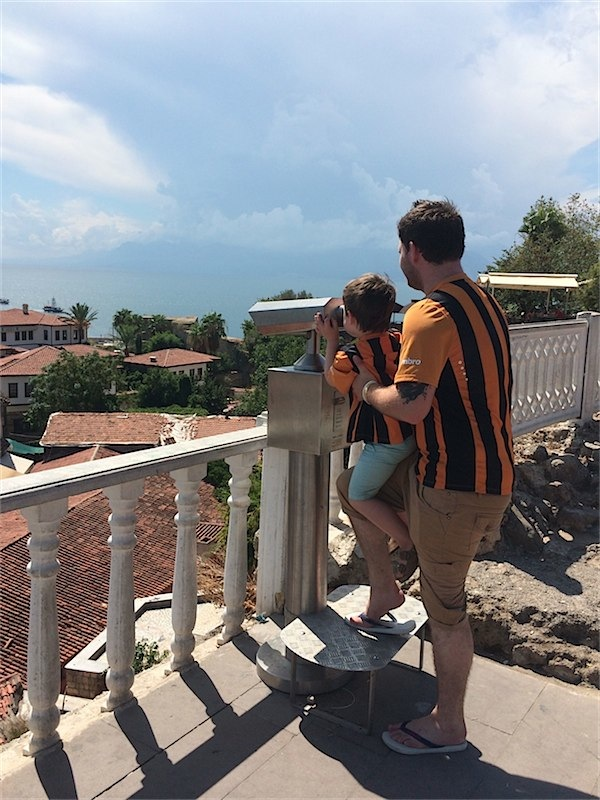 Our holiday in pictures via Toby & Roo :: daily inspiration for stylish parents and their kids.