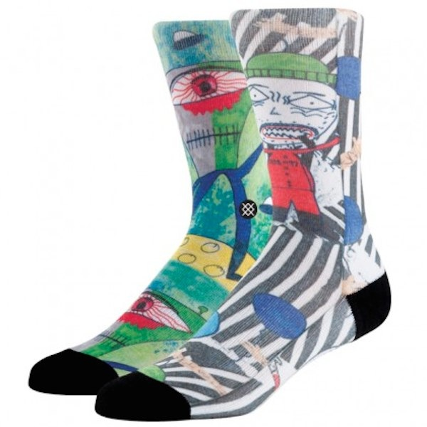 Sock from Stance via Toby & Roo :: daily inspiration for stylish parents and their kids.