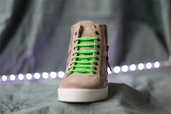 No more tripping over untied shoe laces with SHOEPS ...