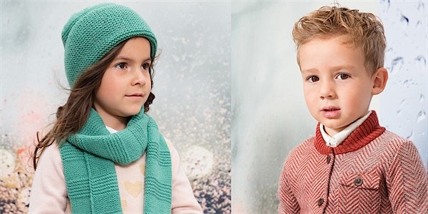 Aymara knitwear via Toby & Roo :: daily inspiration for stylish parents and their kids.