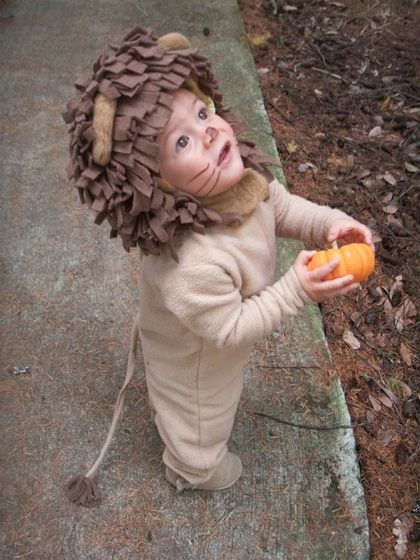 How adorable is this Lion's costume from