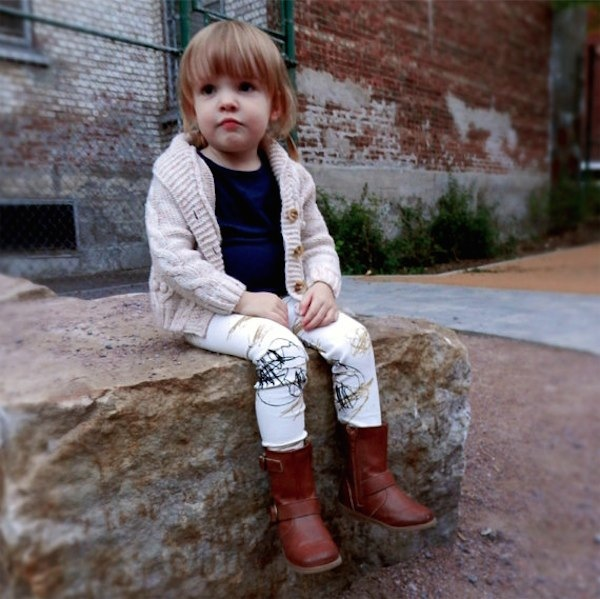 Double Yellow Line clothing via Toby & Roo :: daily inspiration for stylish parents and their kids.