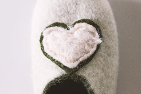Merino wool slippers from EgelSweetHome via Toby & Roo :: daily inspiration for stylish parents and their kids.