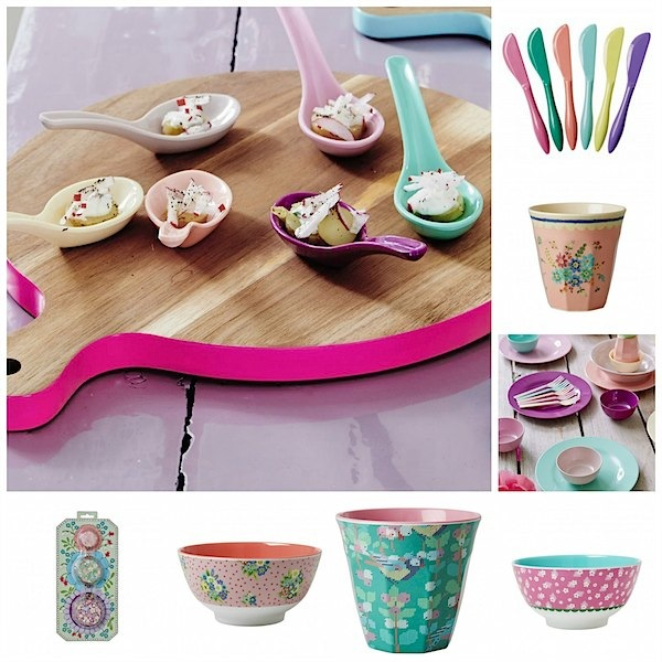 Pretty table wear from RICE via Toby & Roo :: daily inspiration for stylish parents and their kids.