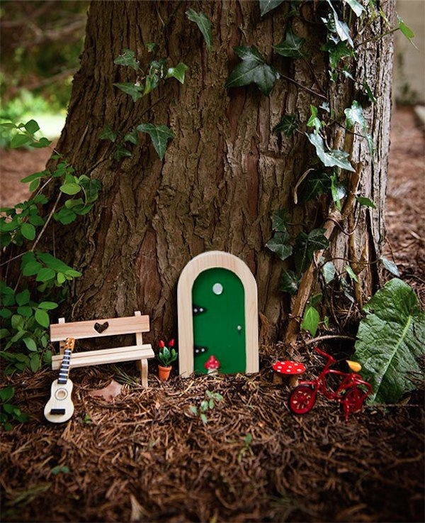 The Irish Fairy Door Company via Toby & Roo :: daily inspiration for stylish parents and their kids.The Irish Fairy Door Company via Toby & Roo :: daily inspiration for stylish parents and their kids.