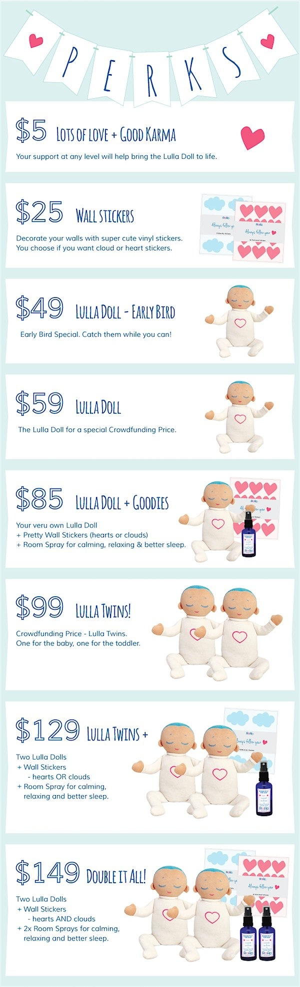 Preorder discounts for the Lulla Doll via Toby & Roo :: daily inspiration for stylish parents and their kids.