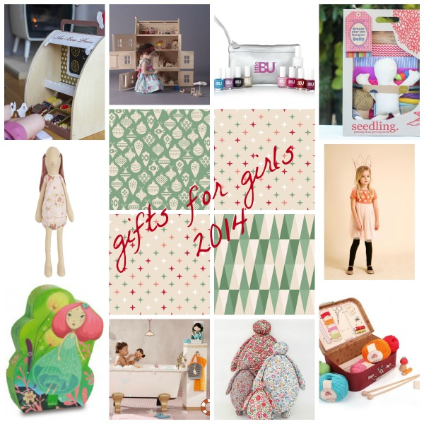 Gifts for girls 2014 gift guide via Toby & Roo :: daily inspiration for stylish parents and their kids.