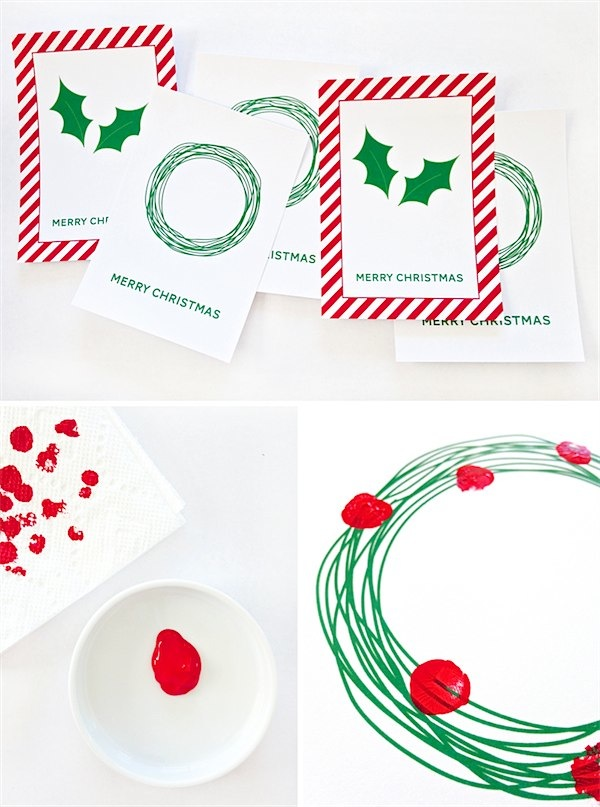 FREE printable Christmas cards from i heart nap time via Toby & Roo :: daily inspiration for stylish parents and their kids.
