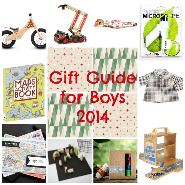 Christmas gift guide for boys (and girls!) for 2014! via Toby & Roo :: daily inspiration for stylish parents and their kids