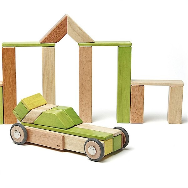 Tegu super stylish building blocks for kids via Toby & Roo :: daily inspiration for stylish parents and their kids.