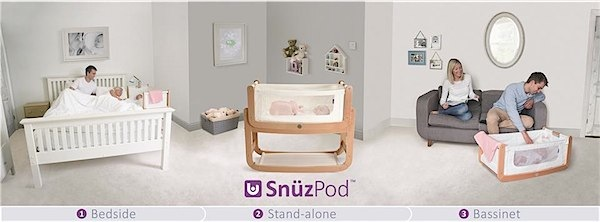 The Snüzpod crib by The Little Green Sheep via Toby & Roo :: daily inspiration for stylish parents and their kids.