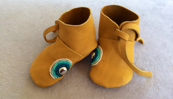 Stunning Mocassins for mama and baby from EverythingLL via Toby & Roo :: daily inspiration for stylish parents and their kids.