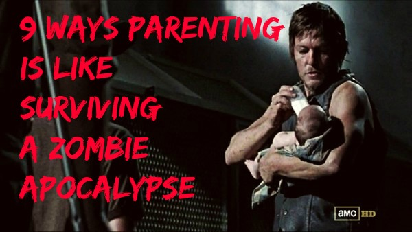 9 ways parenting is like surviving a zombie apocalypse via Toby & Roo :: daily inspiration for stylish parents and their kids.