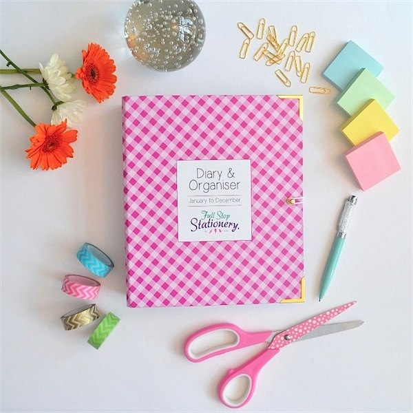Brillaint diaries from Full Stop Stationary via Toby & Roo :: daily inspiration for stylish parents and their kids.