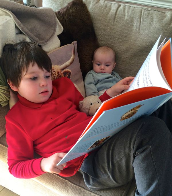 The importance of reading via Toby & Roo :: daily inspiration for stylish parents and their kids.