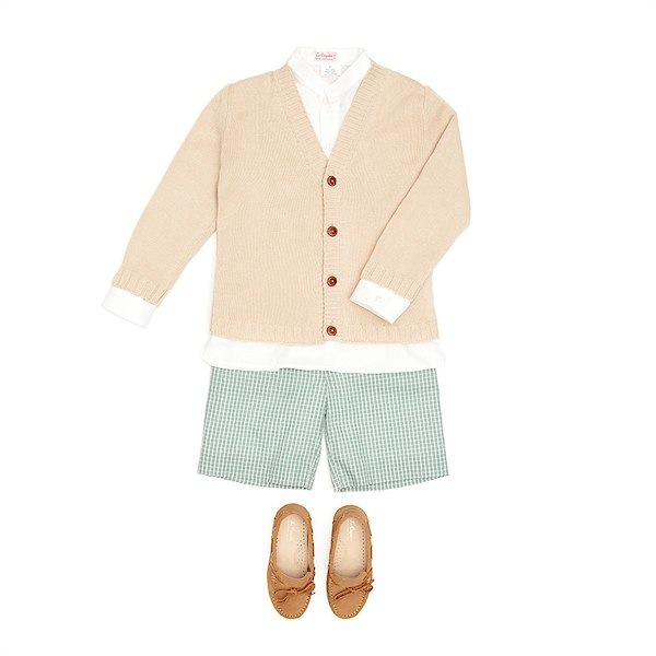 The perfect summer wedding attire for boys from La Coqueta via Toby & Roo :: daily inspiration for stylish parents and their kids.