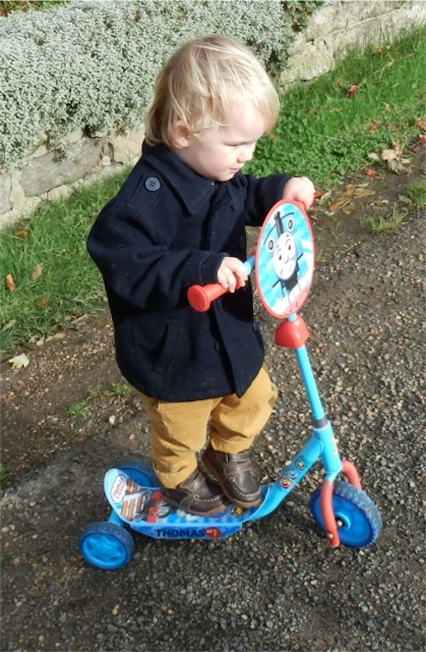 Scooters via Toby & Roo :: daily inspiration for stylish parents and their kids.