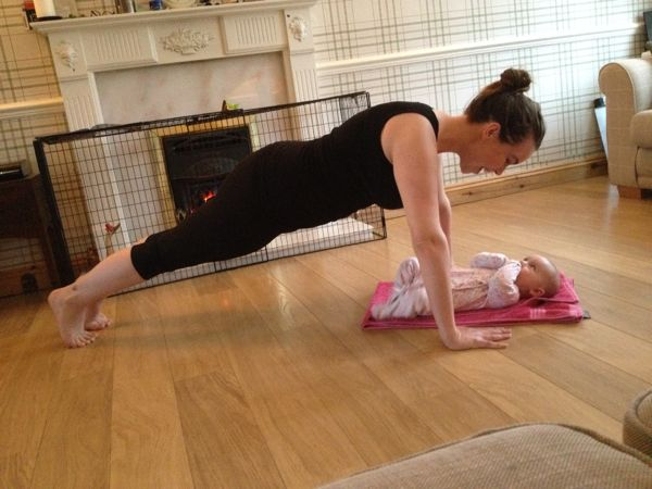 Mummy fitness :: losing the baby weight via Toby & Roo :: daily inspiration for stylish parents and their kids.
