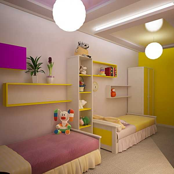 Kids Room Design: Room Sharing For Kids: How To Make The Most Out Of Any