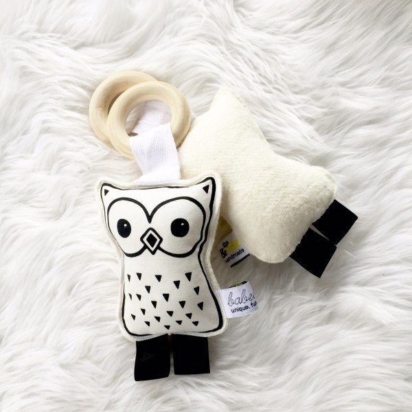 Adorable, stylish baby toys from Babee & Me via Toby & Roo :: daily inspiration for stylish parenting and their kids.