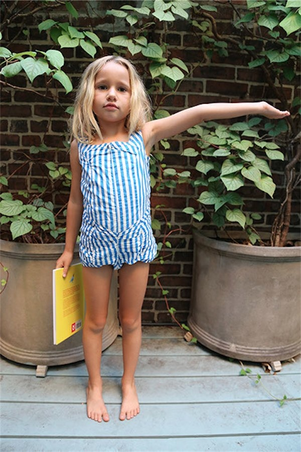 Super sweet swimwear from Wovenplay via Toby & Roo :: daily inspiration for stylish parents and their kids.