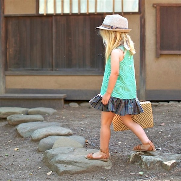 SugarCane, loom weave clothing for girls via Toby & Roo :: daily inspiration for stylish parents and their kids.