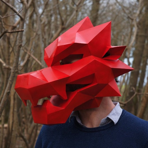 DIY Masks by Wintercroft via Toby & Roo :: daily inspiration for stylish parents and their kids.