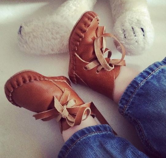 Donsje booties via Toby & Roo :: daily inspiration for stylish parents and their kids.