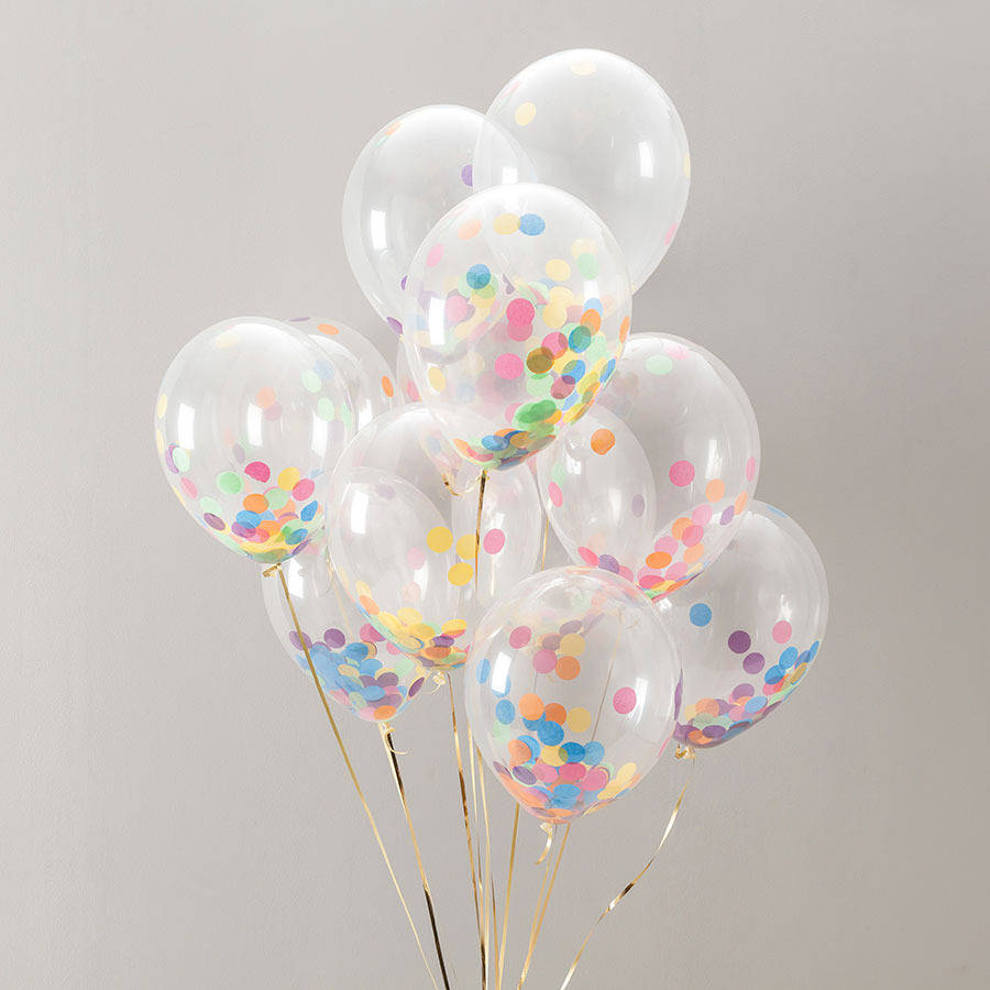 DIY confetti balloons via Toby & Roo :: daily inspiration for stylish parents and their kids.